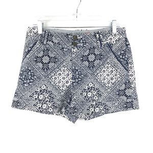 Anthropologie Cartonnier paisley shorts